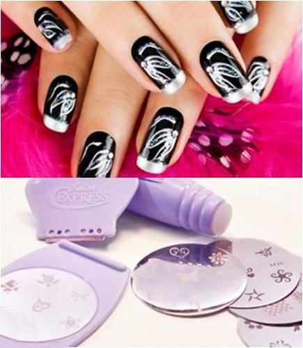 Saloon Express - Nail Art Stamping Kit