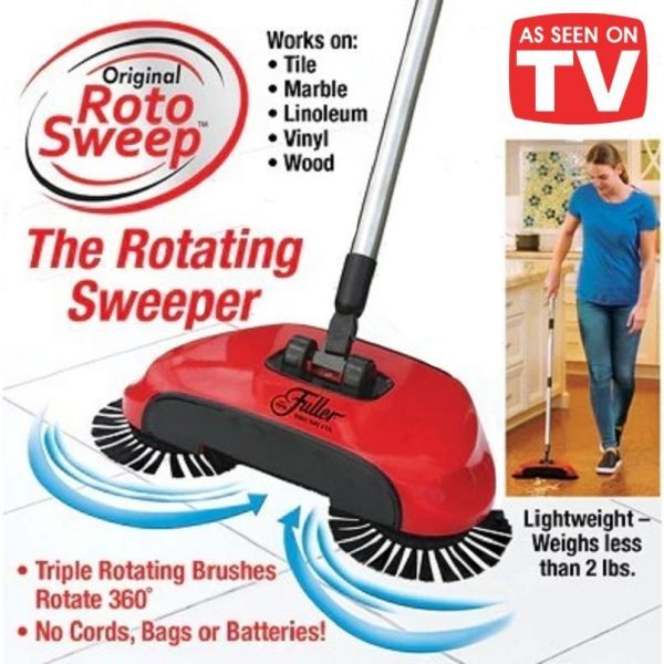 Sweep drag all in one vacuum cleaner 360°