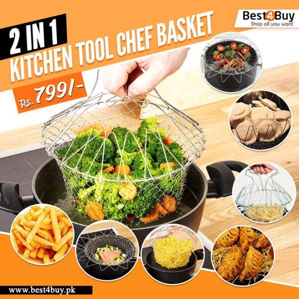 12 in 1 Kitchen Tool Chef Basket