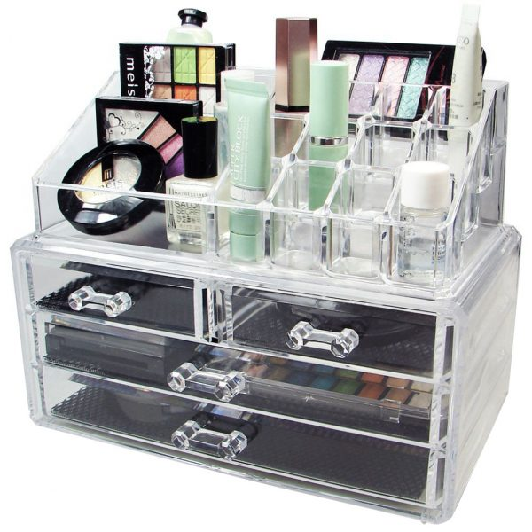 Cosmetic/Jewelery Storage 4 Drawer