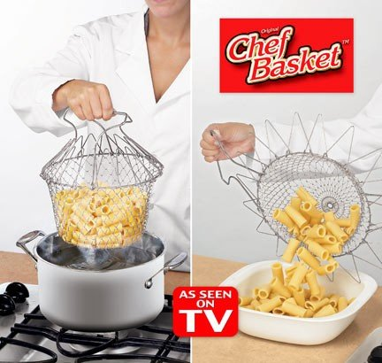 Chef Basket Ideal For kitchen instantly expands to a flexible basket (Copy)