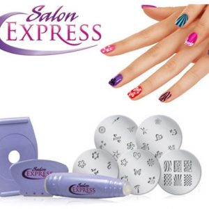 Saloon Express - Nail Art Stamping Kit