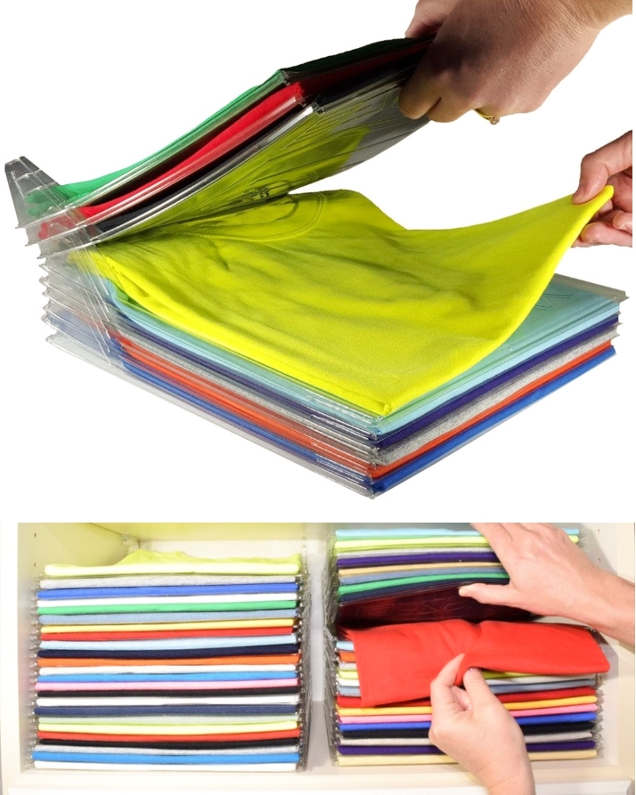 Ezstax Clothing Organizer – Pack of 10 (Great Travel Accessory) Best4Buy.pk