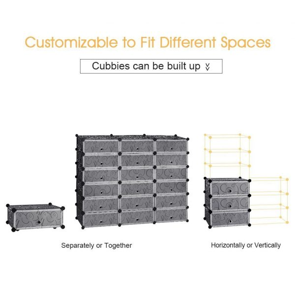 Cubes Storage CabinetShoe Rack Best4Buy1