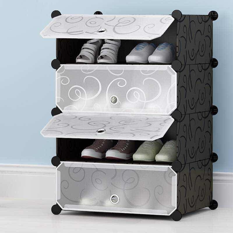 Cubes Storage CabinetShoe Rack Best4Buy.pk