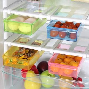 Pack Of 2 Refrigerator Fridge Storage Rack