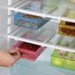 Pack Of 2 Refrigerator Fridge Storage Rack