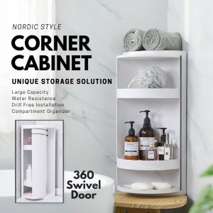 360° Rotating Corner Shelf