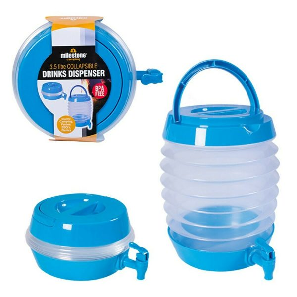 """alt=""""Water Container Collapsible With Tap"""""""