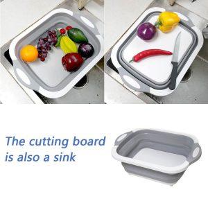 "alt=""Foldable Multi-Function Chopping Board"""